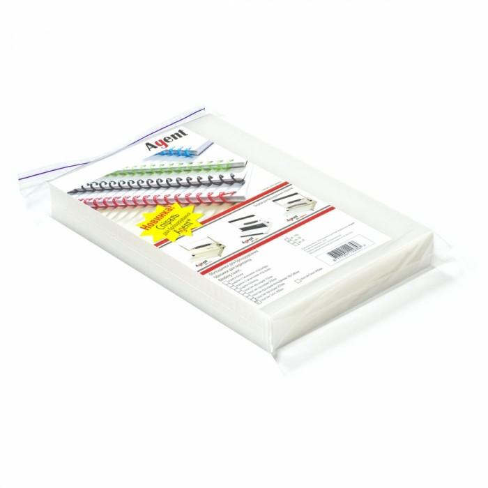Обложки Пластик  Satin  А4, 400мкм. (100шт) бесцветные