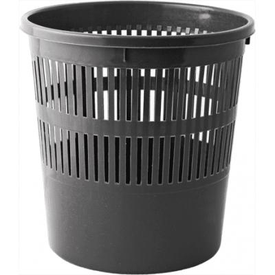 Корзина для бумаги с прорезями (черная) bm.1920-01