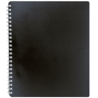 Тетрадь для записей В5 Classic (черный)  bm.2419-001