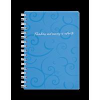 Зошит для записів А6  Barocco  (блакитний) bm.2589-614