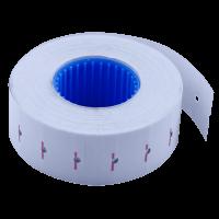 Цінник прямокутний, внутрішня намотка 22х12мм (білий) 1000шт./12м