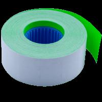 Ценник прямоугольный, внутренняя намотка 26х16мм (зеленый) 1000шт./16м