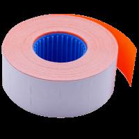 Цінник прямокутний, внутрішня намотка 26х16мм (помаранчевий) 1000шт./16м.