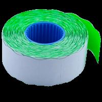 Ценник фигурный, внутренняя намотка 26х16мм (зеленый) 1000шт./16м