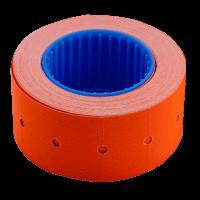Цінник прямокутний, зовнішня намотка 22х12мм (помаранчевий) 500шт./6м