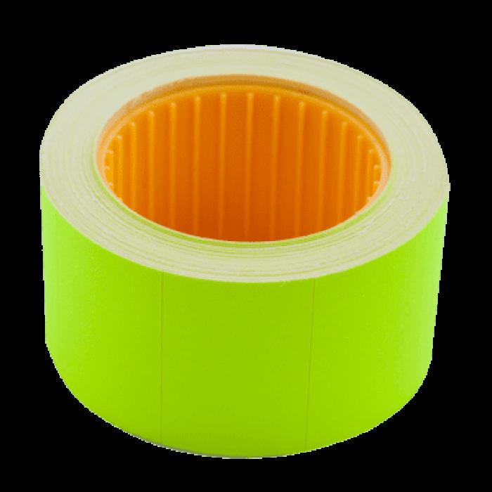 Цінник прямокутний, зовнішня намотка 30х20мм (жовтий) 300шт./6м