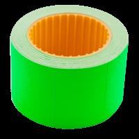 Цінник прямокутний, зовнішня намотка 35х25мм (зелений) 240шт./6м