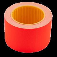 Ценник прямоугольный, внешняя намотка 35х25мм (красный) 240шт./6м