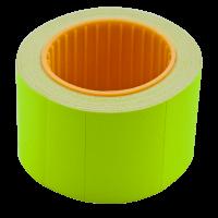 Цінник прямокутний, зовнішня намотка 35х25мм (жовтий) 240шт./6м