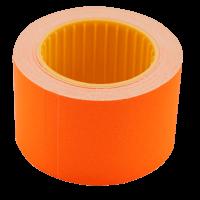 Цінник прямокутний, зовнішня намотка 35х25мм (помаранчевий) 240шт./6м