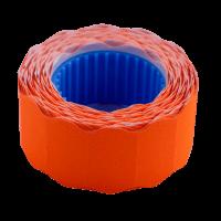Ценник фигурный, внешняя намотка 22х12мм (оранжевый) 500шт./6м