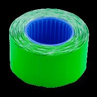 Цінник фігурний, зовнішня намотка 26х16мм (зелений) 375шт./6м