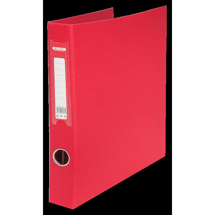 Регистратор с кольцевым механизмом А4/4D (красный) bm.3106-05