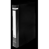 Папка з 2-ма кільцями Jobmax А4 (чорний)  bm.3161-01
