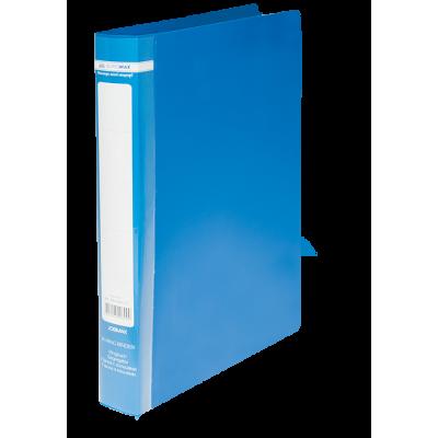 Папка с 2-мя кольцами Jobmax А4 (синий) bm.3161-02
