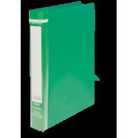Папка с 2-мя кольцами Jobmax А4 (зеленый) bm.3161-04