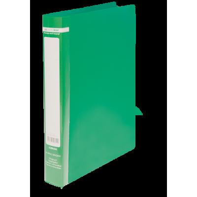 Папка з 2-ма кільцями Jobmax А4 (зелений) bm.3161-04