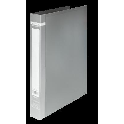 Папка з 2-ма кільцями Jobmax А4 (сірий) bm.3161-09
