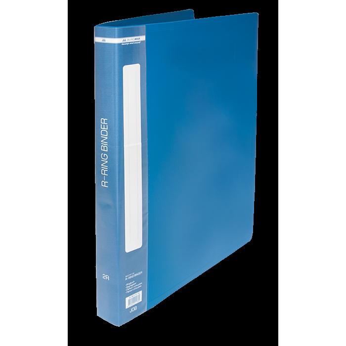 Папка з 2-ма кільцями А4 (синій) bm.3167-02