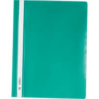 Швидкозшивач А4 з прозорим верхом (зелений) bm.3311-04