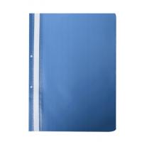 Швидкозшивач А4 з прозорим верхом/2 отвори (синій) bm.3314-02