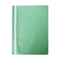 Швидкозшивач А4 з прозорим верхом/2 отвори (зелений) bm.3314-04