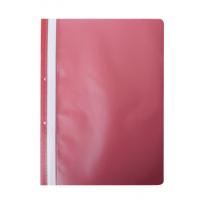 Швидкозшивач А4 з прозорим верхом/2 отвори (червоний) bm.3314-05