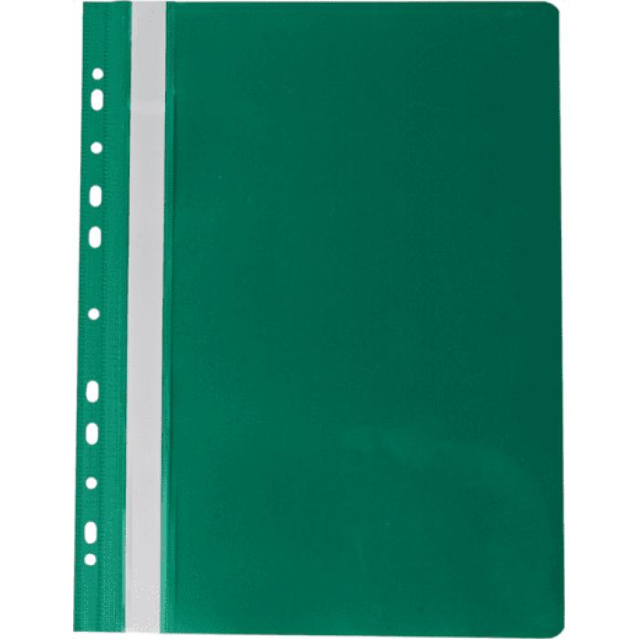 Скоросшиватель А4 с европерфорацией (зеленый) bm.3331-04
