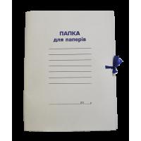 Папка на зав'язках картонна (клеєний клапан) А4  bm.3356