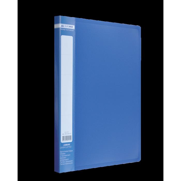 Папка с прижимом А4 Jobmax (синий) bm.3401-02