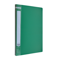 Папка с прижимом А4 Jobmax (зеленый) bm.3401-04