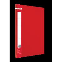 Папка с прижимом А4 Jobmax (красный) bm.3401-05