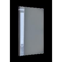 Папка с прижимом А4 Jobmax (серый) bm.3401-09