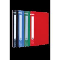 Папка с прижимом А4 Jobmax (ассорти) bm.3401-99