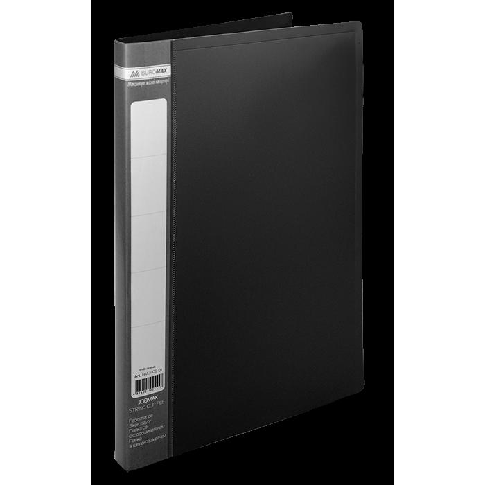 Папка со скоросшивателем А4, Jobmax (черный) bm.3406-01