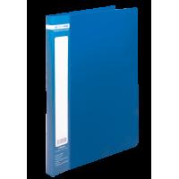 Папка зі швидкозшивачем, А4, Jobmax (синій) bm.3406-02
