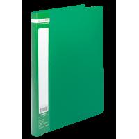 Папка зі швидкозшивачем, А4, Jobmax (зелений) bm.3406-04
