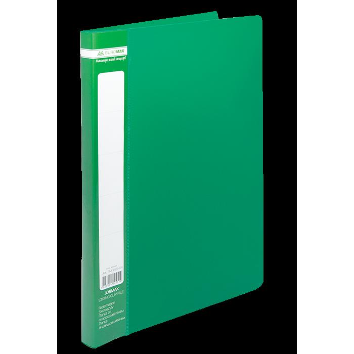 Папка со скоросшивателем А4, Jobmax (зеленый) bm.3406-04
