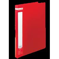Папка зі швидкозшивачем, А4, Jobmax (червоний) bm.3406-05