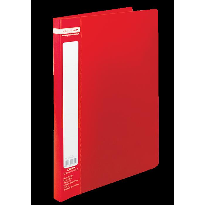 Папка со скоросшивателем А4, Jobmax (красный) bm.3406-05