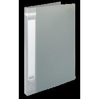 Папка со скоросшивателем А4, Jobmax (серый) bm.3406-09