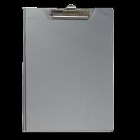 Кліпборд-папка А4 PVC (сірий) bm.3415-09
