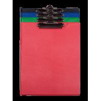 Кліпборд-папка А5 PVC (асорті) bm.3417-99
