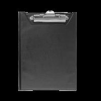 Клипборд-папка А5 PVC (черный) bm.3417-01