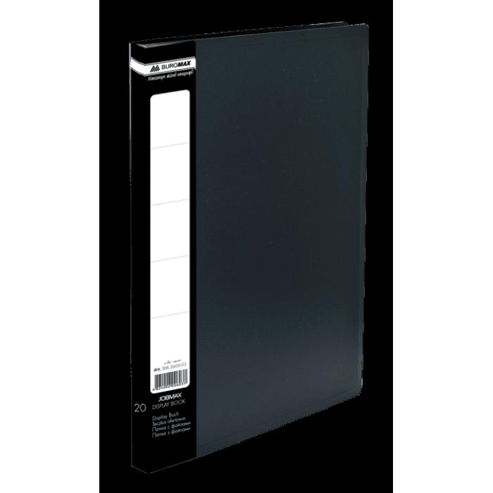 Папка с 10 файлами А4 (черный) bm.3600-01