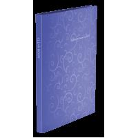 Папка з 20 файлами А4 Barocco фіолетовий  bm.3607-07