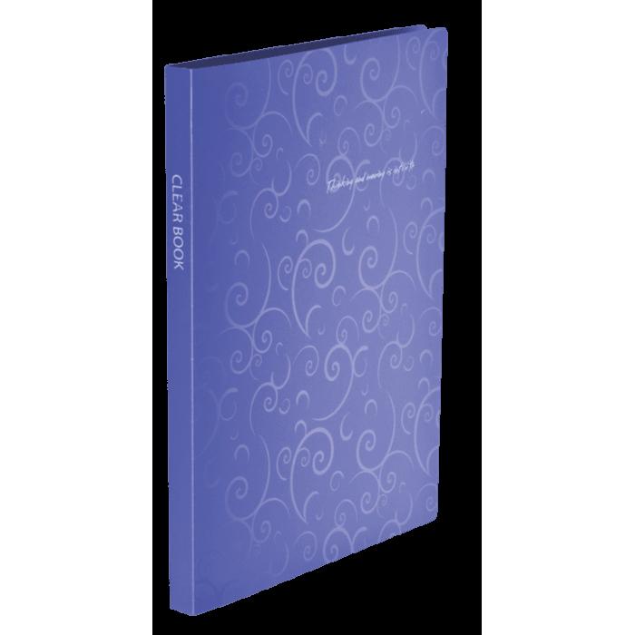 Папка с 20 файлами А4 Barocco фиолетовый  bm.3607-07