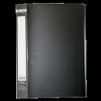 Папка с 30 файлами А4, Jobmax (черный) bm.3611-01