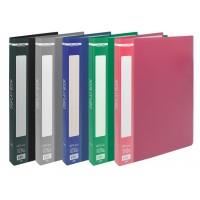 Папка з 30 файлами А4, гладкий пластик (асорті) bm.3612-99