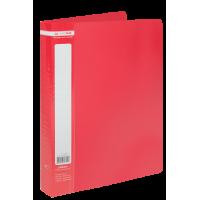 Папка з 40 файлами А4, Jobmax (червоний) bm.3616-05